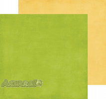 Бумага 30*30 Green / Yellow, BF50018