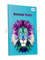 "Блокнот А5 ""Animal note"", mint, 00022, TM Profiplan"