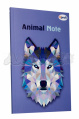 "Блокнот В6 ""Animal note"", violet, 50643, TM Profiplan"
