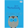 "Блокнот B6 ""Artbook"", blue, 50285, TM Profiplan"