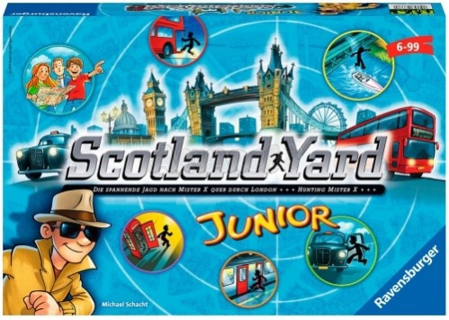 "Настольная игра ""Junior Scotland Yard"" Ravensburger, 82402"