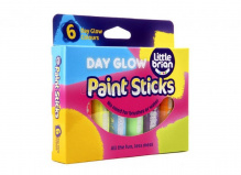 Набор 6 цв. краска-карандаш Paint Sticks neon, LBPS10DA6