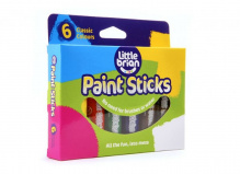 Набор 6 цв. краска-карандаш Paint Sticks classic, LBPS10CA6