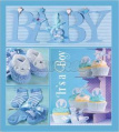 Фотоальбом EVG 20sheets Baby collage Blue w / box