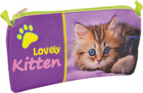 "Пенал ""Lovely Kitten"" PM5 3,5*29 см б/н 530806"
