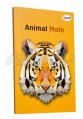 "Блокнот B6 ""Animal note"", orange, 50674, TM Profiplan"