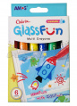 Пастель 6 цв Amos Glass Fun 245330