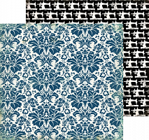 Бумага 30*30 Darling Damask, CBSL25009